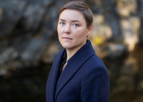 """Pernilla Berglund har skrivit """"Rätten""""."""